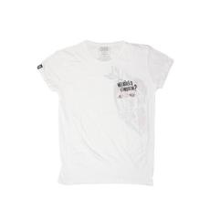 Dorko rövidujjú felső Halott Pénz T-Shirt, férfi, fehér, pamut keverék, L