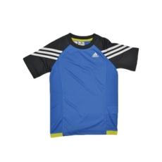 Adidas PERFORMANCE rövidujjú felső LB GYM Tee, kisgyerek, fiú, kék, pamut, 98