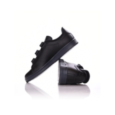 ADIDAS ORIGINALS férfi utcai cipő Stan Smith CF, fekete, bőr, természetes, 41,3