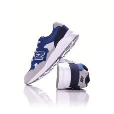 New Balance fiú utcai cipő KL 580 LEG, kék, bőr, természetes, 36