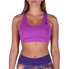 Adidas PERFORMANCE fitness melltartó RB BRA 3S Shopur/Black, női, lila, poliészter, L