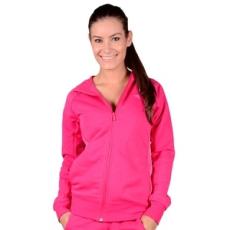 Adidas PERFORMANCE végig cipzáros pulóver YG ESS FZ NEW, lány, rózsaszín, pamut, 140