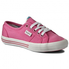 Pepe Jeans Teniszcipő PEPE JEANS - Baker Wash PGS30262 Bright Pink 338