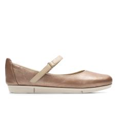 drscholl Clarks TRI AXIS pezsgő arany cipő