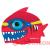 Speedo Gyerek úszósapka Speedo Sea Squad Charakter Cap Piros