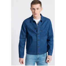 Levi's Rövid farmerdzseki Orange Tab Blue Rinse