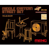 Meng-Modell MENG-Model Middle Eastern Street Set (Resin) makett SPS-036