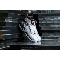 Jordan Air Jordan 8 Retro BG White/ Gym Red-Black-Wolf Grey