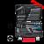 FIXTEC INDUSTRIAL 76 részes multifunkciós szerszámkészlet