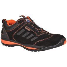 Portwest -FW34 - Steelite Lusum védőcipő S1P - fekete/narancs (40)
