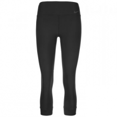 Nike 3/4 Power Legend Crop black/cool grey női leggings, L (839734-010-L)