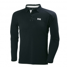 Helly Hansen HP Shore Ls Rugger Galléros póló D (53021-q_597-Navy)