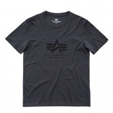 Alpha Industries Basic T - greyblack/black