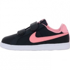 Nike Court Royale Gyerek sportcipő, Anthracite/Bright Melon, 28.5 (833655-002-11.5c)