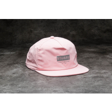 STUSSY Reflective Tape Cap Pink