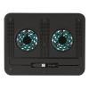"Notebook állvány, ventilátorral, USB, TRUST ""Cyclone"" (TR17866)"