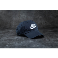 Nike Futura Washed H86 Cap Black/ White