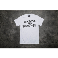 THRASHER Skate And Destroy T-Shirt White