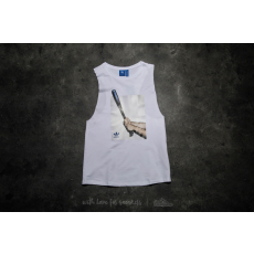 ADIDAS ORIGINALS adidas Graphic Tank Top Core White