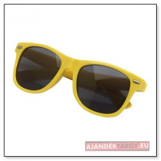 Stylish napszemüveg, sárga