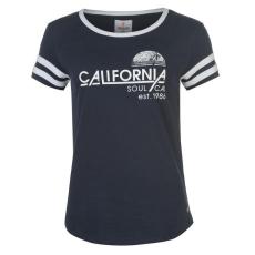 SoulCal női póló - SoulCal Deluxe California Stripe T Shirt