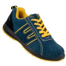 Munkavédelmi Velúrbőr Cipő (Munkavédelmi Velúrbőr Cipő OPTIM 212)