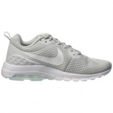 Nike Air Max Motion Low női sportcipő, Platinum/White, 39 (833662-010-8)
