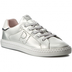 Pepe Jeans Sportcipő PEPE JEANS - Halley Basic PGS30254 Silver Grey 914