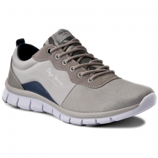 Pepe Jeans Félcipő PEPE JEANS - Coven Basic PMS30357 Lt Grey 915