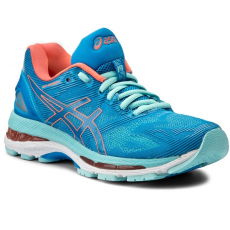 Asics Cipők ASICS - Gel-Nimbus 19 T750N Diva Blue/Flash Coral/Aqua Splash 4306