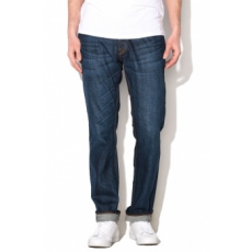 Jack Jones Jack&Jones Sötétkék Férfi Regular Fit Farmernadrág, W33-L34 (12116604-BLUE-DENIM-W33-L34)