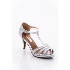 XTI 30568 SHOE LADY METALLIC SILVER .
