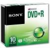 Sony 10DPR47SS DVD+R 4.7 GB 16x slim tok lemez 10db/csomag