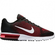 Nike Air Max Sequent 2 férfi futócipő, Black/Team Red, 43 (852461-006-9.5)