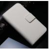 iPhone 6 6S műbőr flip pénztárca tok fehér színben ajándékokkal