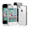 Átlátszó iPhone 4, 4S telefon tok ajándékkal