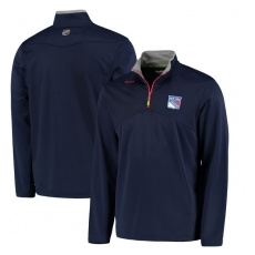 Reebok New York Rangers Pulóver Center Ice Quarter Zip Baselayer - M,(EU)