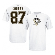 Reebok Pittsburgh Penguins Póló Sidney Crosby #87 - XXL