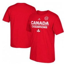 Adidas Póló Team Canada 2016 World Cup of Hockey Champions Authentic - M