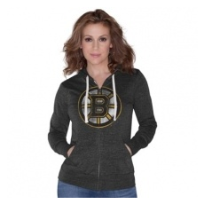 Boston Bruins Női melegítő Nubby Tri-Blend - M