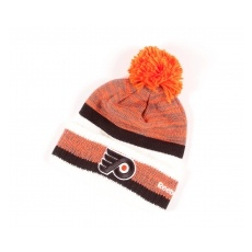 Reebok Philadelphia Flyers Téli sapka Center Ice Cuff Pom