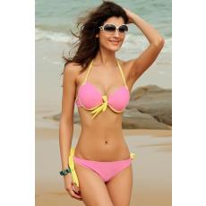 Csakcsajok Rózsaszín-citromsárga bikini-M/L