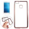 TOPTEL Clear case Huawei P9 hátlap, tok, átlátszó-rózsaszín