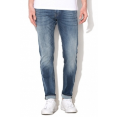 Jack Jones Jack&Jones Glennn Original Kék Férfi Slim Fit Farmernadrág, W32-L32 (12109970-BLUE-DENIM-W32-L32)