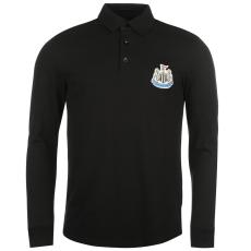 NUFC Férfi galléros póló fekete XL