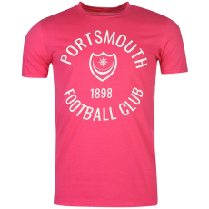 Team Portsmouth férfi póló pink M