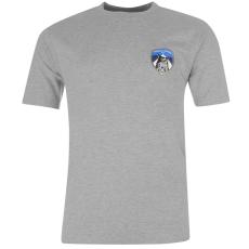 Team Athletic Small Crest férfi póló szürke XL