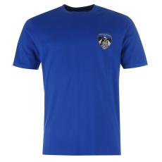 Team Athletic Small Crest férfi póló kék L