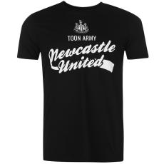 NUFC Newcastle United Graphic férfi póló fekete L