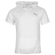 Puma EvoStripe férfi kapucnis pulóver fehér XXL